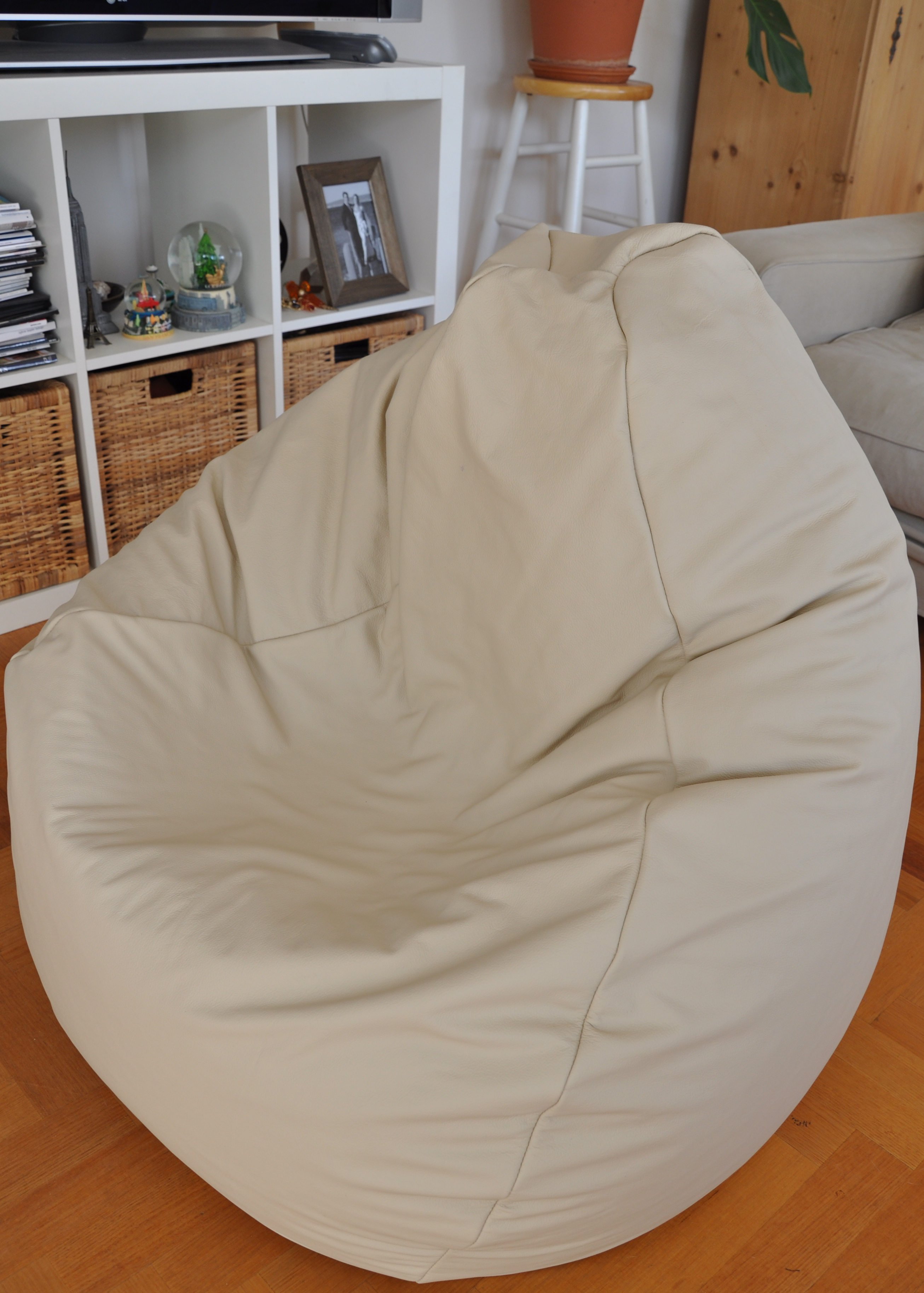 Amazing Leather Bean Bag Nelson Rose Bralicious Painted Fabric Chair Ideas Braliciousco